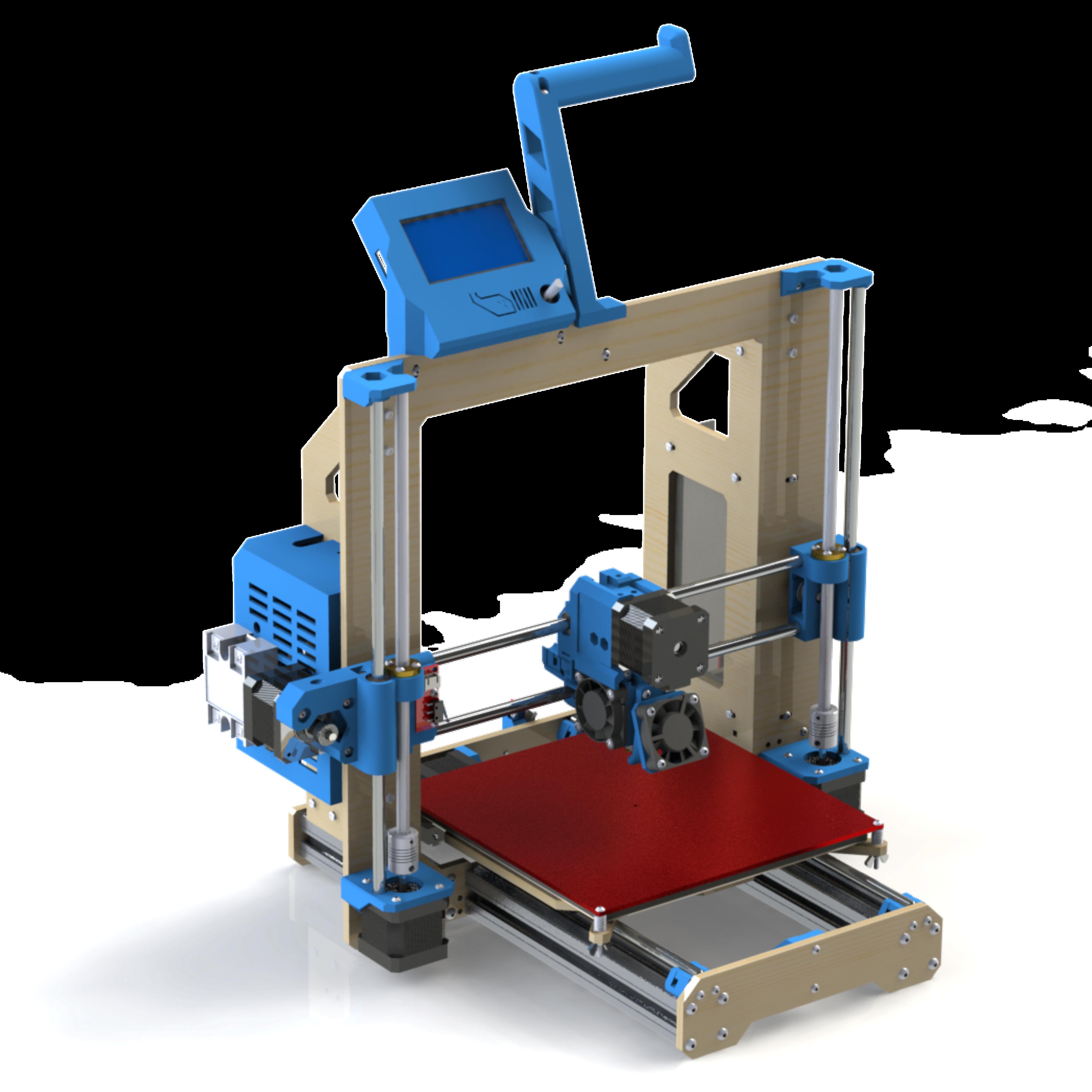 Como construir uma impressora 3D
